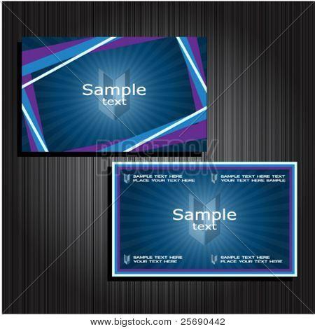 business cards set 33