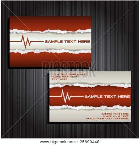 Business card set 30