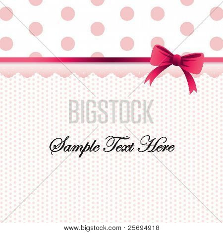 polka dot design template