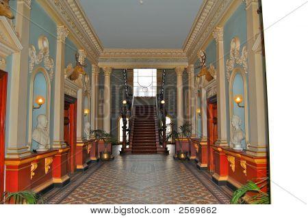 Inside Werribee Mansion