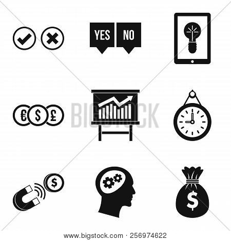 Qualified Personnel Icons Set. Simple Set Of 9 Qualified Personnel Icons For Web Isolated On White B
