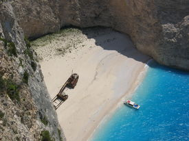 Shipwreck Beach In Zakynthos Greece 2