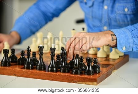 Tactics Is Knowing What To Do. Development Logics. Learning Play Chess. Chess Lesson. Strategy Conce