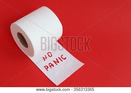 Shortage Of Toilet Paper Due To The Outbreak Of Coronavirus In The World, The Concept Of Shortage Of