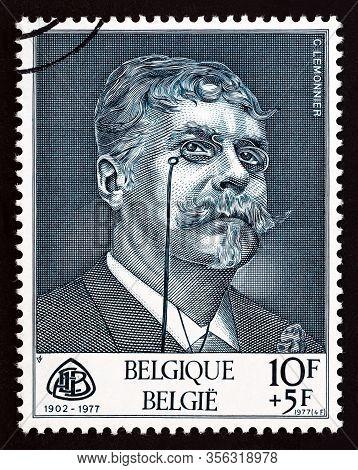 Belgium - Circa 1977: A Stamp Printed In Belgium From The