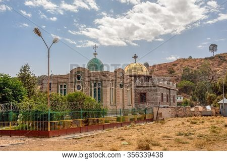 Church Of Saint Mary Of Zion, Chapel Where The Ark Of The Covenant Is Allegedly Kept. Ethiopia. Bibl