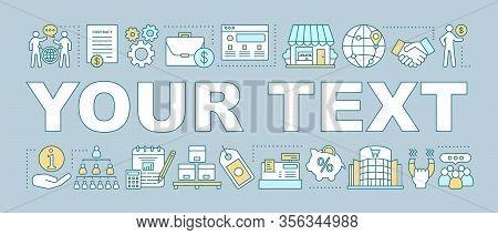 Franchising Word Concepts Banner. Marketing. Presentation, Website. Consumerism. Promotion. Goods Di