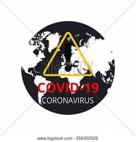 Covid-19 Coronavirus Concept, Novel Coronavirus (2019-ncov) Icon Sign Banner. World Health Organizat
