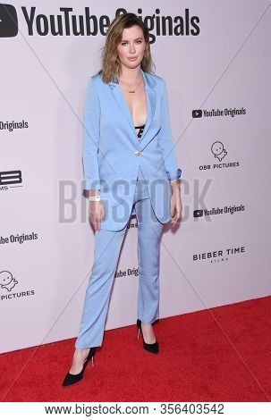 LOS ANGELES - JAN 27:  Ireland Baldwin {Object} arrives for the Premiere Of YouTube Originals'