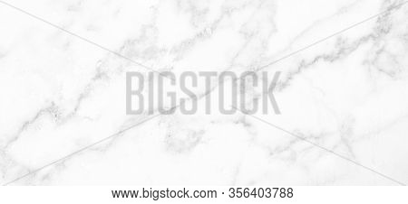 Marble Granite White Panorama Background Wall Surface Black Pattern Graphic Abstract Light Elegant B