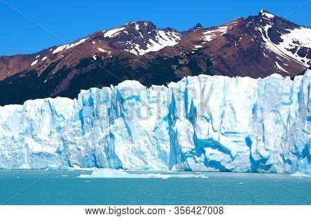 The Perito Moreno Glacier Is A Glacier Located In The Los Glaciares National Park In The Santa Cruz