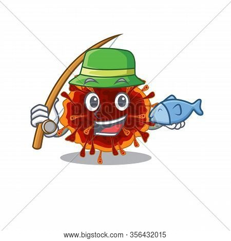 A Picture Of Funny Fishing Delta Coronavirus Design