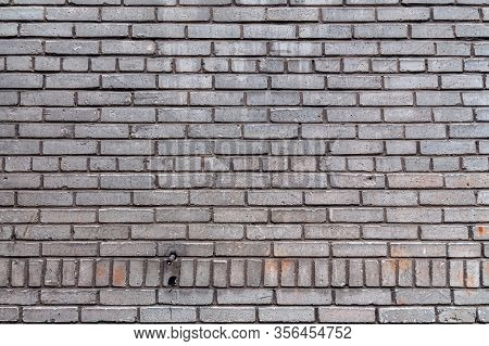 Background With An Old Brick Wall