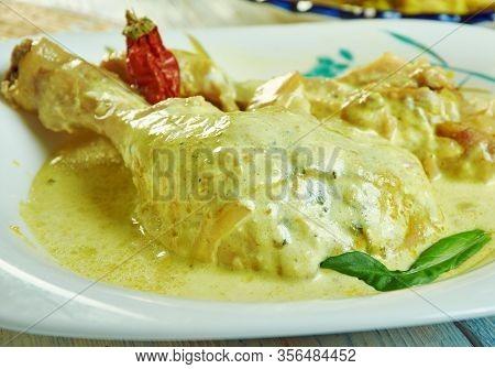 Sri Lankan Kukul Mas Curry