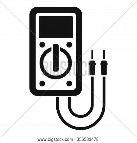 Diagnostic Multimeter Icon. Simple Illustration Of Diagnostic Multimeter Vector Icon For Web Design