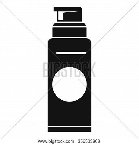 Barber Shaving Foam Icon. Simple Illustration Of Barber Shaving Foam Vector Icon For Web Design Isol