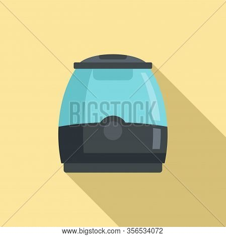 Air Purifier Icon. Flat Illustration Of Air Purifier Vector Icon For Web Design
