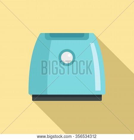 Ionizer Air Purifier Icon. Flat Illustration Of Ionizer Air Purifier Vector Icon For Web Design