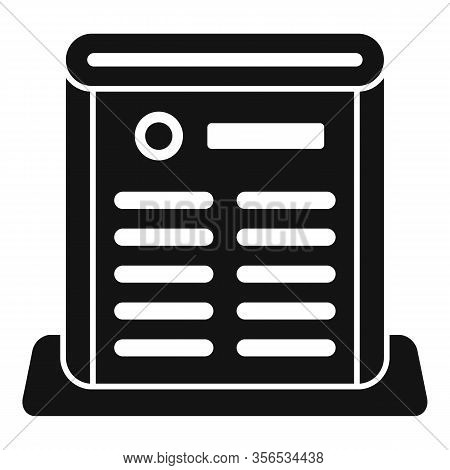 Air Purifier Care Icon. Simple Illustration Of Air Purifier Care Vector Icon For Web Design Isolated