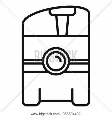 Air Purifier Icon. Outline Air Purifier Vector Icon For Web Design Isolated On White Background