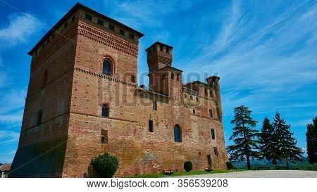 The Castello Di Grinzane Cavour Piemonte Italy