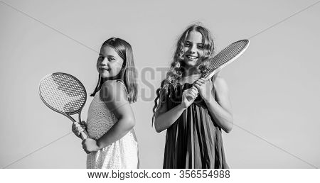 Never Stop. Summer Sport Activity. Energetic Children. Happy And Cheerful. Sporty Game Playing. Summ
