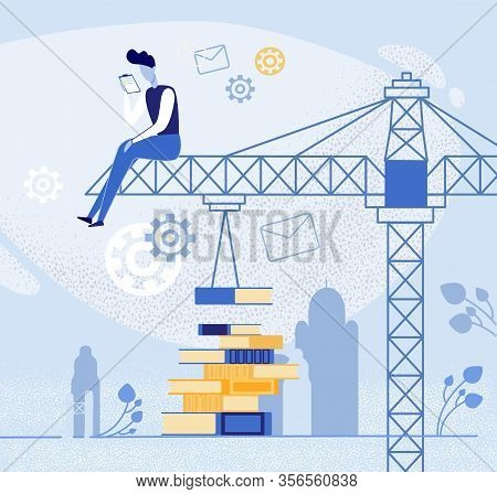 Banner Philosophical Thinking To Search For Ideas. Successful Development Creativity And Learning To