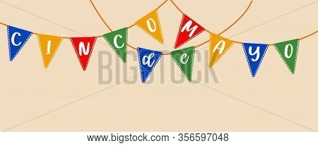 Cinco De Mayo Banner. Greeting Card, Poster, Banner, Design Element. Celebrate Party Poster, Banner,