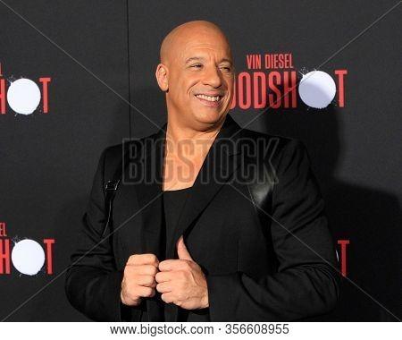 LOS ANGELES - MAR 10:  Vin Diesel at the