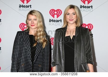 LOS ANGELES - JAN 17:  Taylor Dunn, Victoria Thompson at the 2020 iHeartRadio Podcast Awards at the iHeart Theater on January 17, 2020 in Burbank, CA