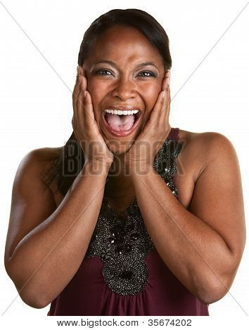 Laughing Black Woman
