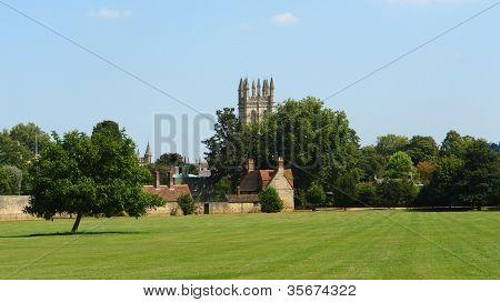 Park Near Merton College