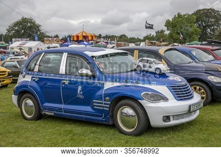 Tatton Park, Knutsford, Cheshire, Uk - 6, July 2019: American Cars At The Stars & Stripes American C