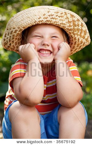 Boy In A Sombrero