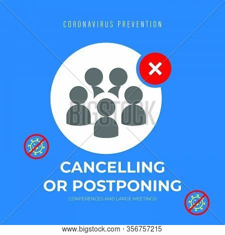 Social Distancing, Keep Distance In Public Society People To Protect From Covid-19 Coronavirus Outbr