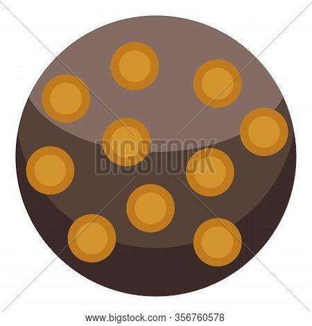 Turkish Sweet Cake Icon. Isometric Of Turkish Sweet Cake Vector Icon For Web Design Isolated On Whit