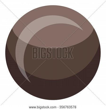 Longan Seed Icon. Isometric Of Longan Seed Vector Icon For Web Design Isolated On White Background