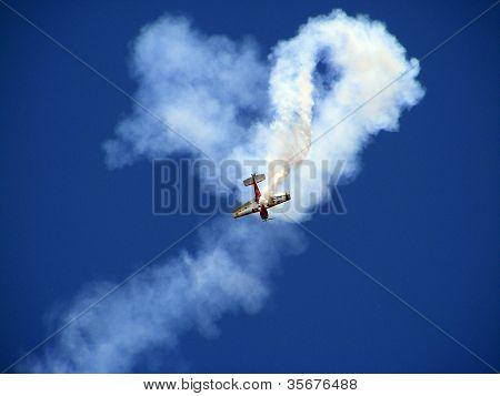 Pilot Jurgis Kairys On Su-26 Display At Airshow