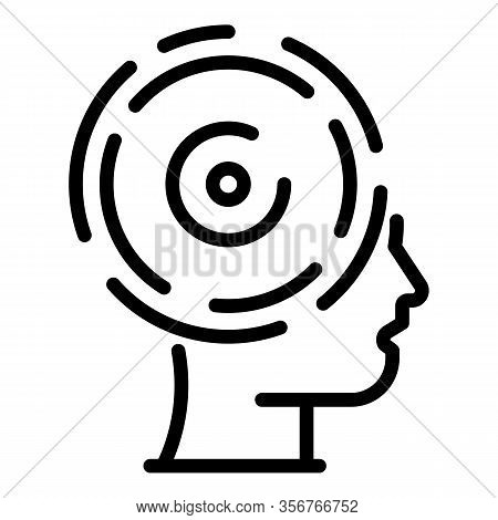 Success Mind Life Skill Icon. Outline Success Mind Life Skill Vector Icon For Web Design Isolated On