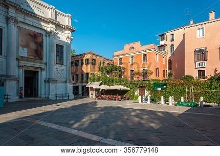 Venice, Italy - August 16, 2018: Accademia Di Belle Arti