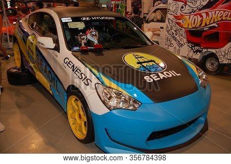 Pasay, Ph - Nov 27: Hyundai Genesis At Manila Auto Salon On November 27, 2011 In Smx Convention Cent
