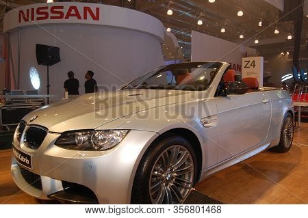 Pasay, Ph - Aug. 19: Bmw M3 Cabrio At 3rd Philippine International Motor Show On August 19, 2010 In