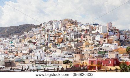 Las Palmas De Gran Canaria, Spain - November 4:  The View Across The City Of Las Palmas Towards