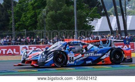 Le Mans / France - June 15-16 2019: 24 Hours Of Le Mans, Innovative Car Team, Ligier Jsp3 - Nissan,