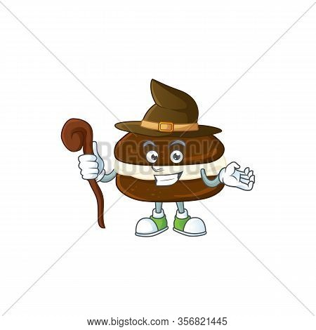 Sweet And Tricky Witch Whoopie Pies Cartoon Character