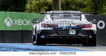 Le Mans / France - June 15-16 2019: 24 Hours Of Le Mans, Bmw Team Mtek, Bmw M8 Gte  Gtepro, Race Of