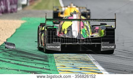 Le Mans / France - June 15-16 2019: 24 Hours Of Le Mans, Oreca07 Lmp2, Race Of The 24 Hours Of Le Ma