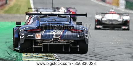 Le Mans / France - June 15-16 2019: 24 Hours Of Le Mans, Proton Competition R Racing Team, Porsche 9
