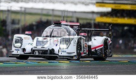 Le Mans / France - June 15-16 2019: 24 Hours Of Le Mans, Larbre Competition   Team, Ligier Js P217 L