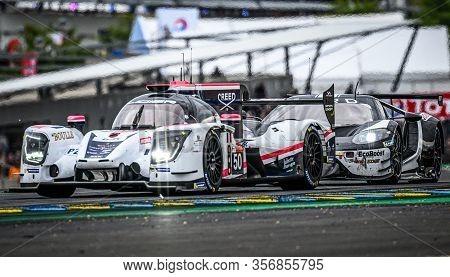 Le Mans / France - June 15-16 2019: 24 Hours Of Le Mans, Larbre Competition Team , Ligier Js P217 Lm